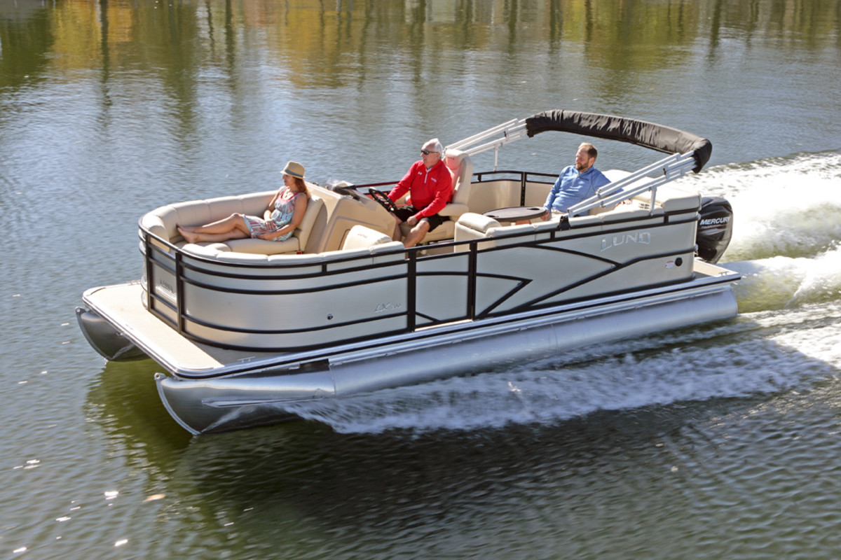Lund Debuts New Line Of Pontoon Boats Trade Only Today