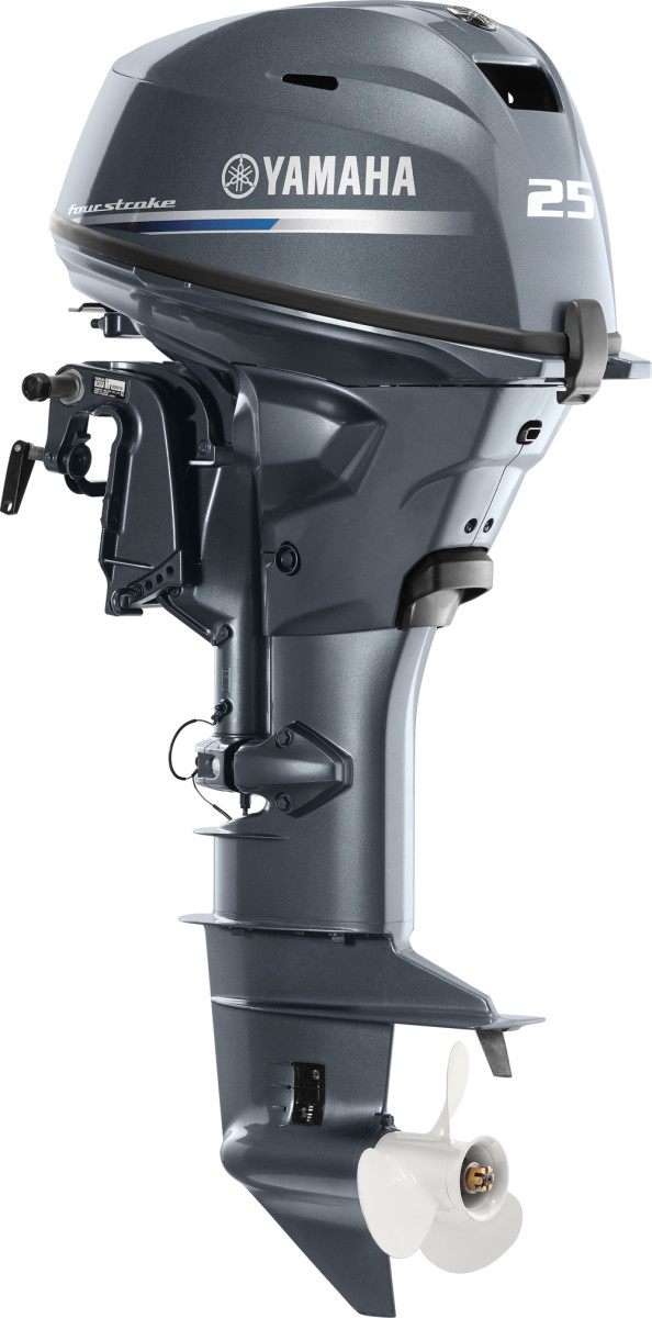 Yamaha said the new F25 weighs less than 126 pounds, making it the lightest 25-hp model in the industry.