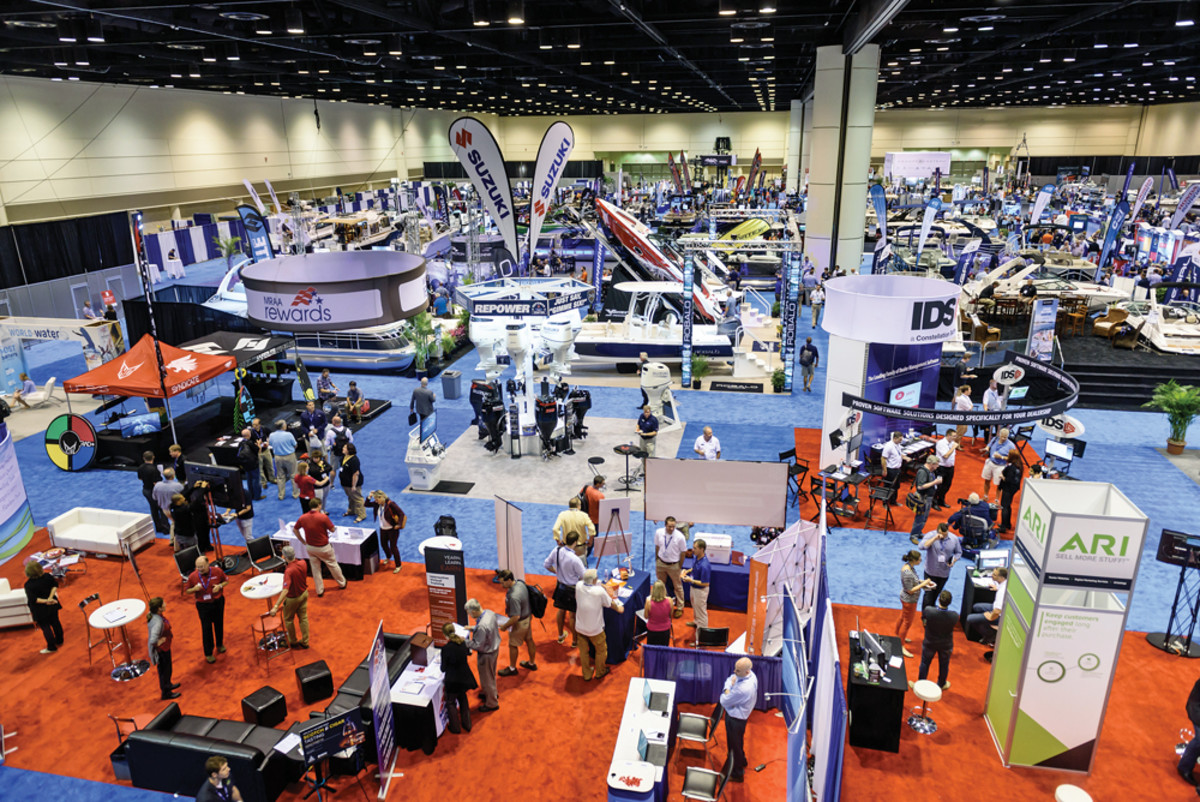 MDCE drew a record 675 marine dealer professionals this year, besting the previous mark by about 60.