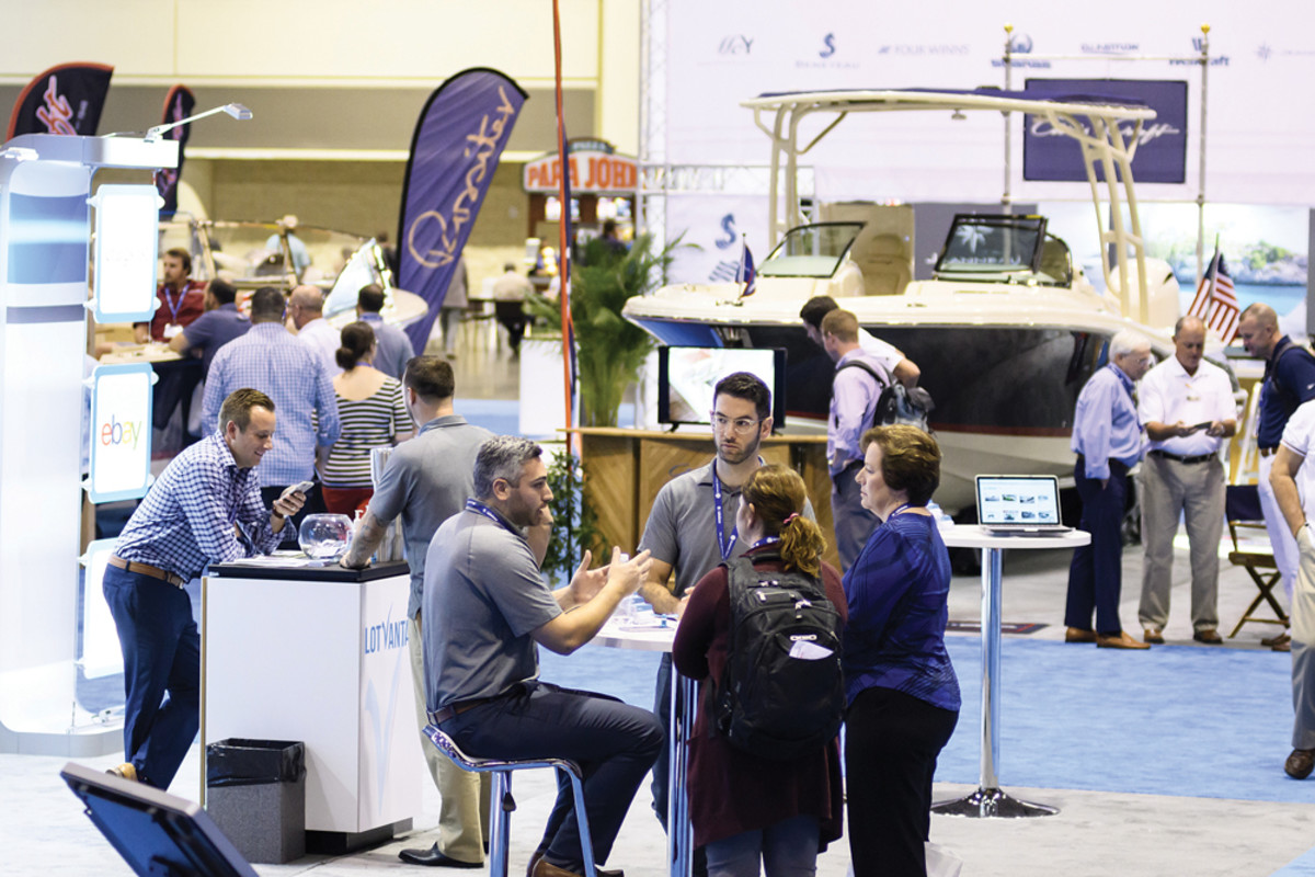 The more than 100 exhibitors included boat, engine and aftermarket product manufacturers.