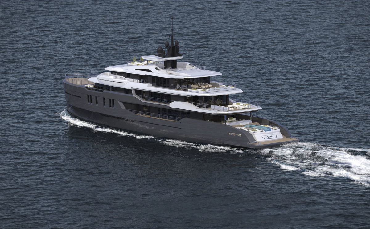 Days is the first model in Ice Yachts' Explorer range.
