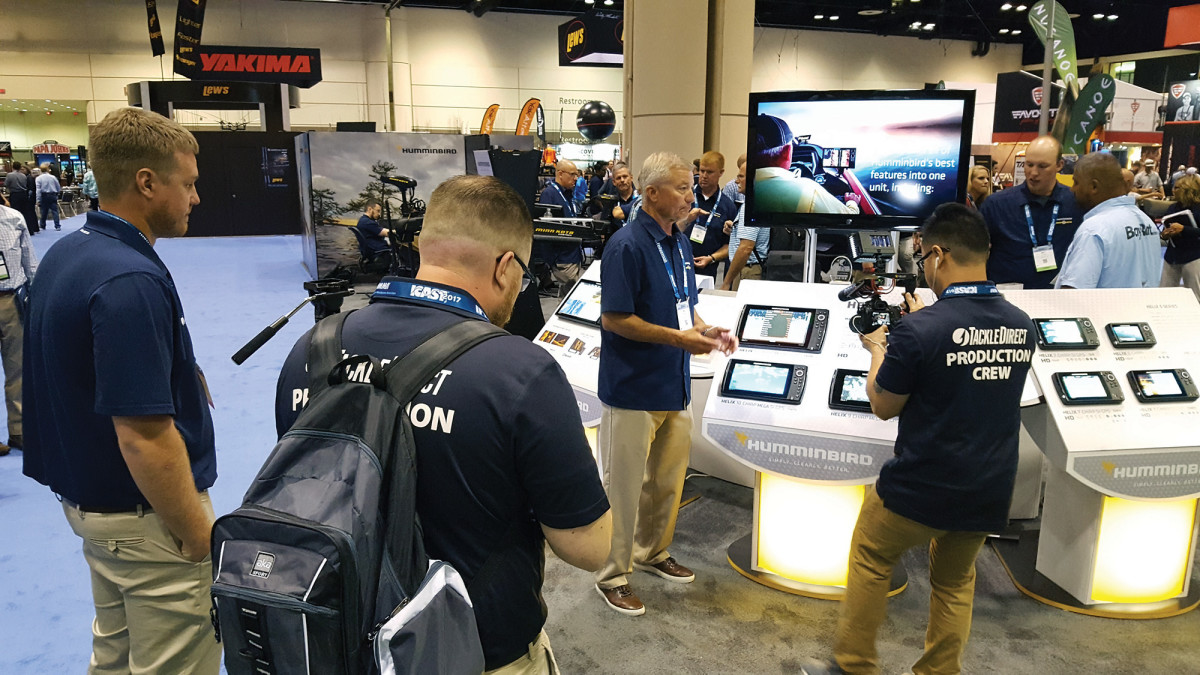 The world's leading makers of fishing gear showcase their products at ICAST.