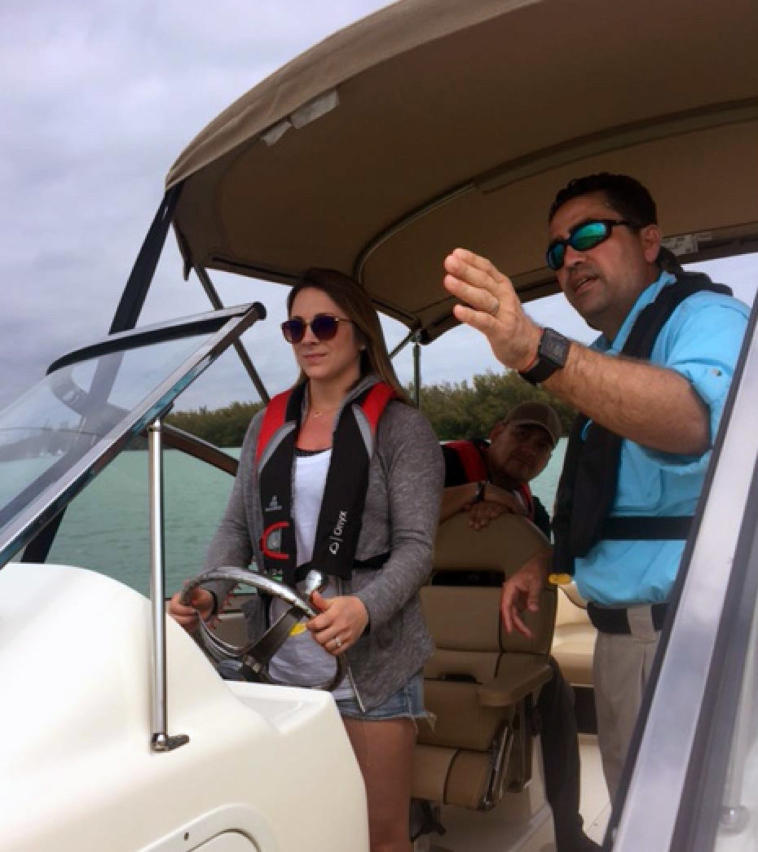 All classes will provide hands-on learning with on-board instructors.
