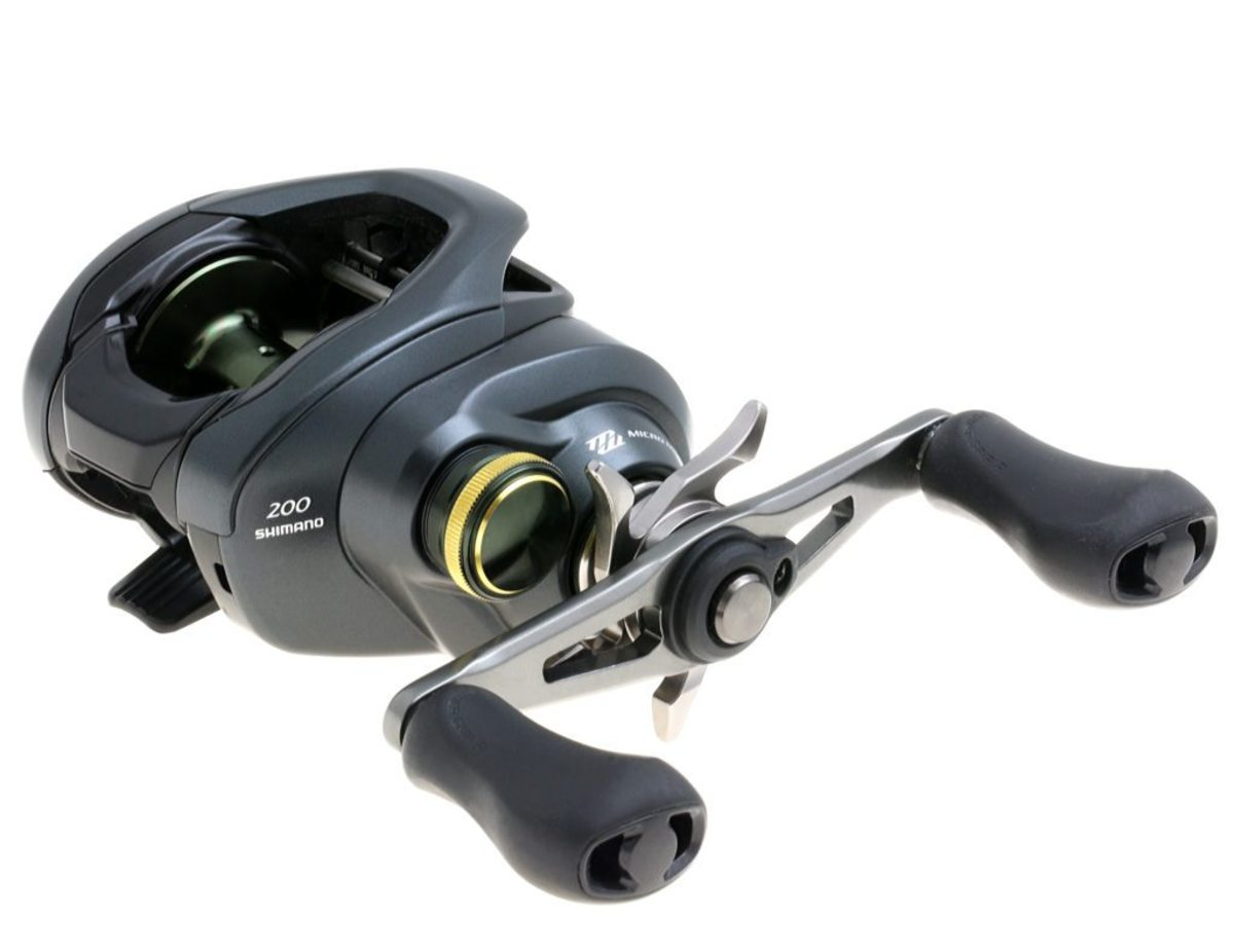 Freshwater reel: Shimano American Corp. Curado K Baitcasting Reels offers the smooth bearings and technical drag options Shimano is known for.
