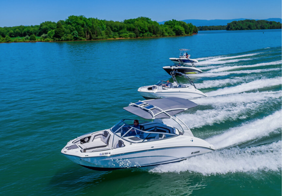Jet boat registrations were up 12.8 percent for the rolling 12-month period through May.