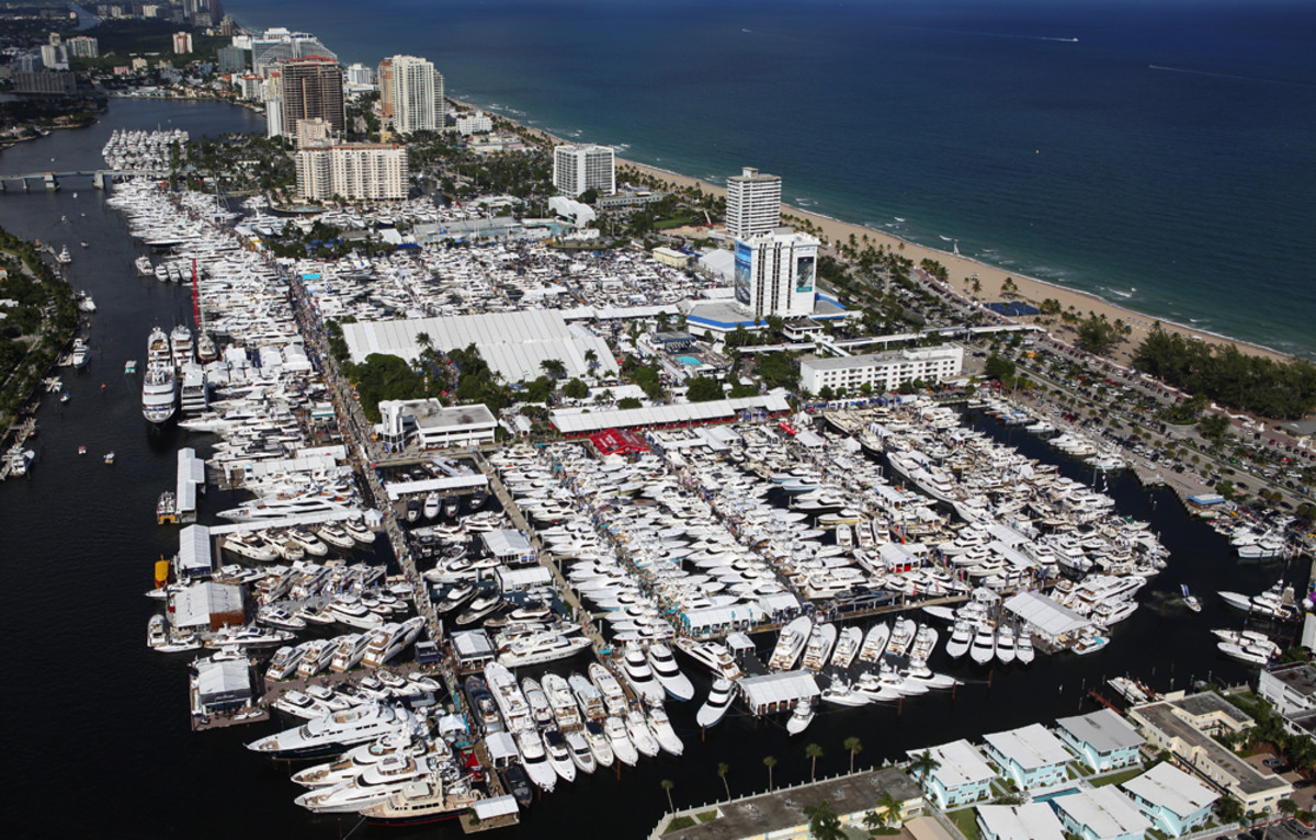 In terms of exhibit space, the Fort Lauderdale International Boat Show was the largest in the event's history this year.