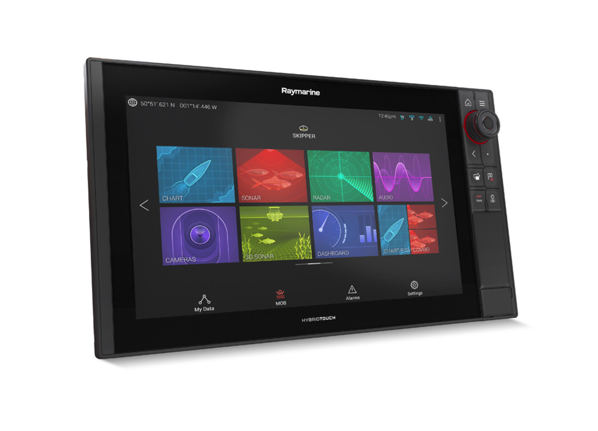 The Raymarine Axiom Pro line is available in nine-, 12- and 16-inch display sizes.