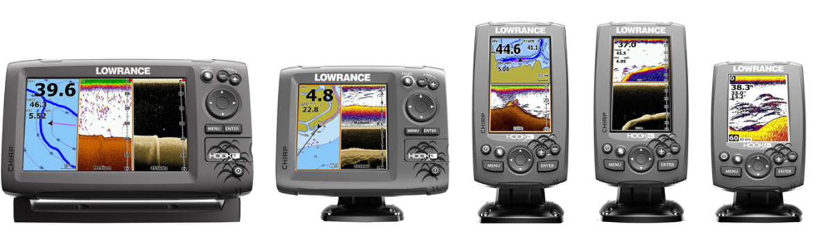 Lowrance Hook fishfinder/chart plotters will be on all 2018 G3 Sportsman Series fishing boats.