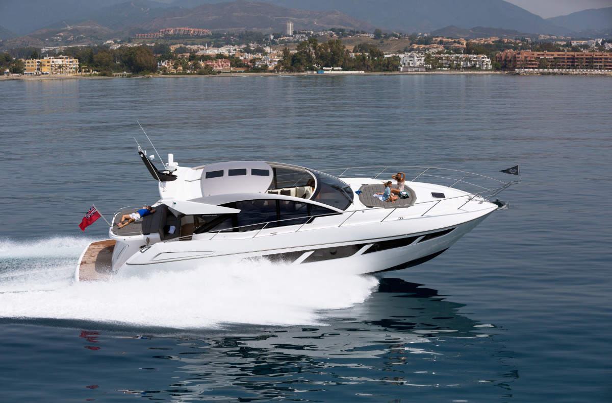 Sunseeker's Predator 57 MKII will make its world debut in Cannes in September.