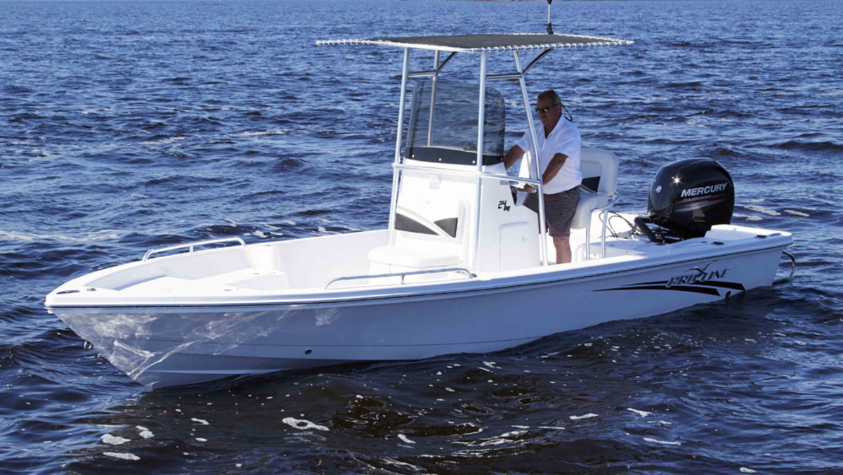 The Baja Marine Group will relaunch its Pro-Line 24 Bay at the Fort Lauderdale show.