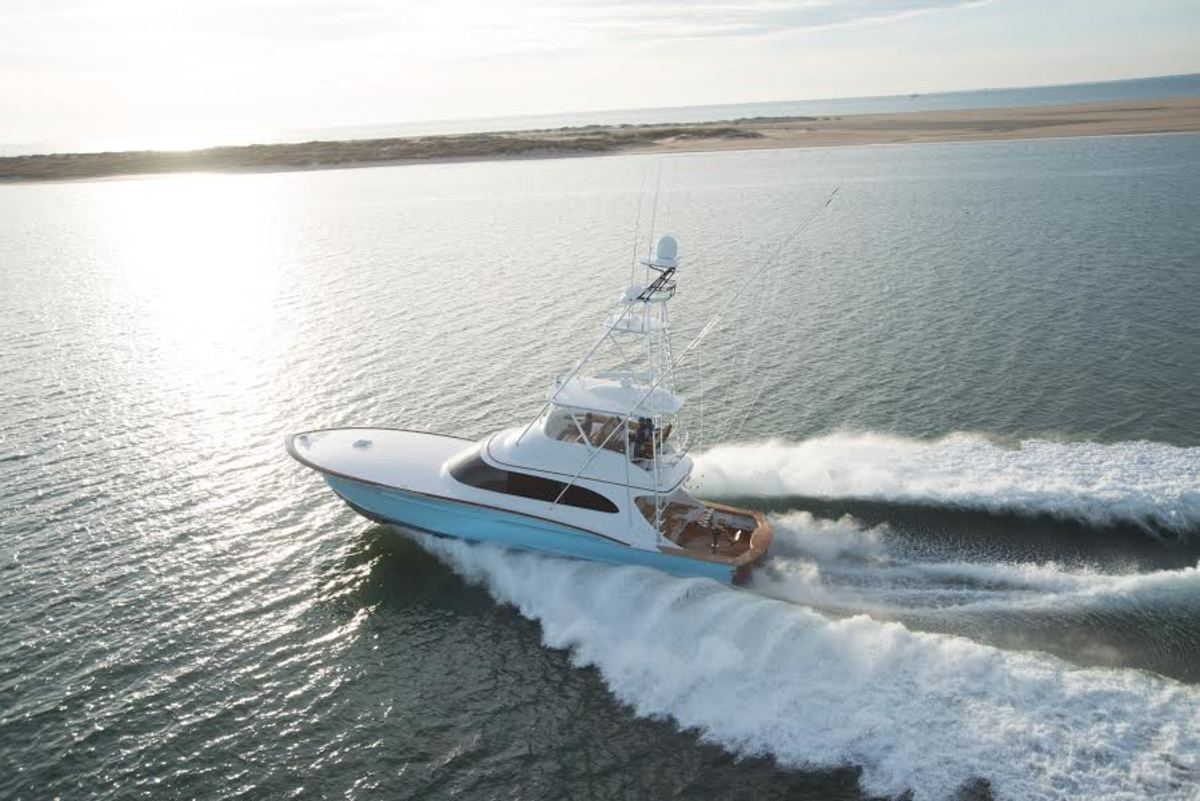 Winter Custom Yachts builds sportfishing boats in North Carolina.