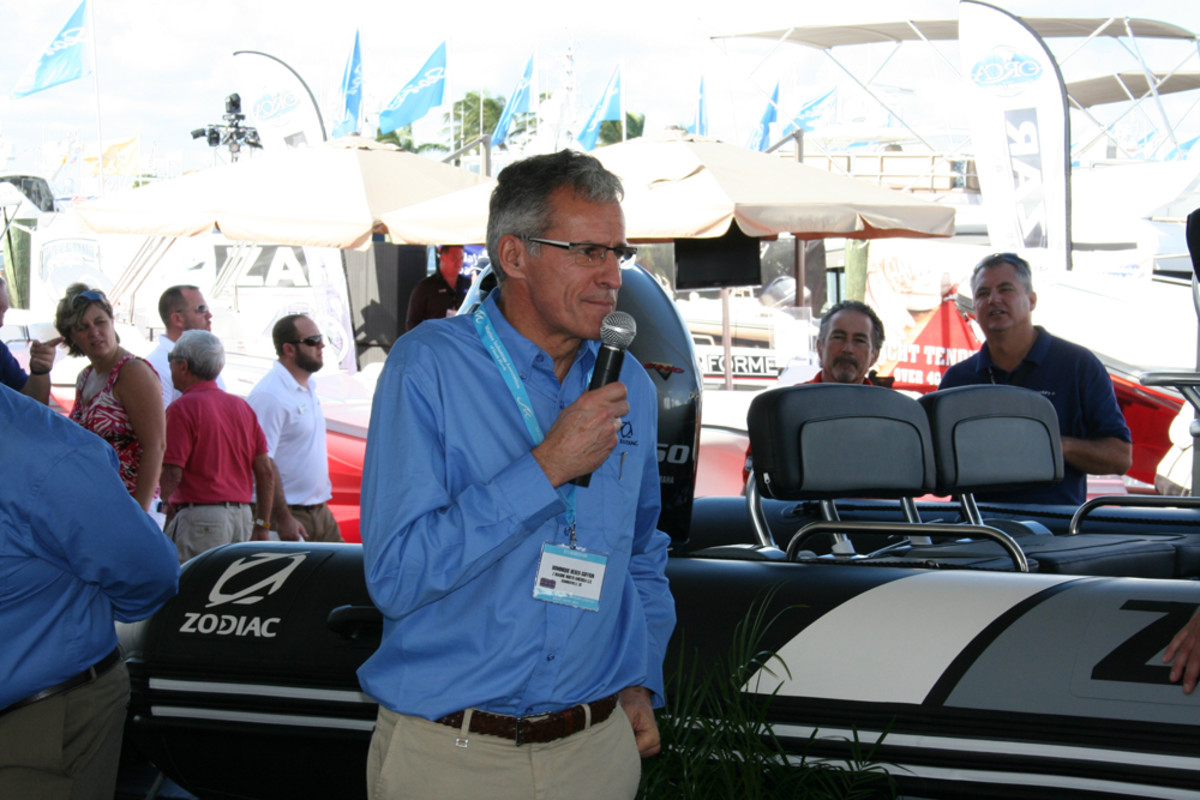 "New Zodiac Nautic president Dominique Heber-Suffrin said the French builder will make ""accelerated growth"" in the U.S. market a priority."
