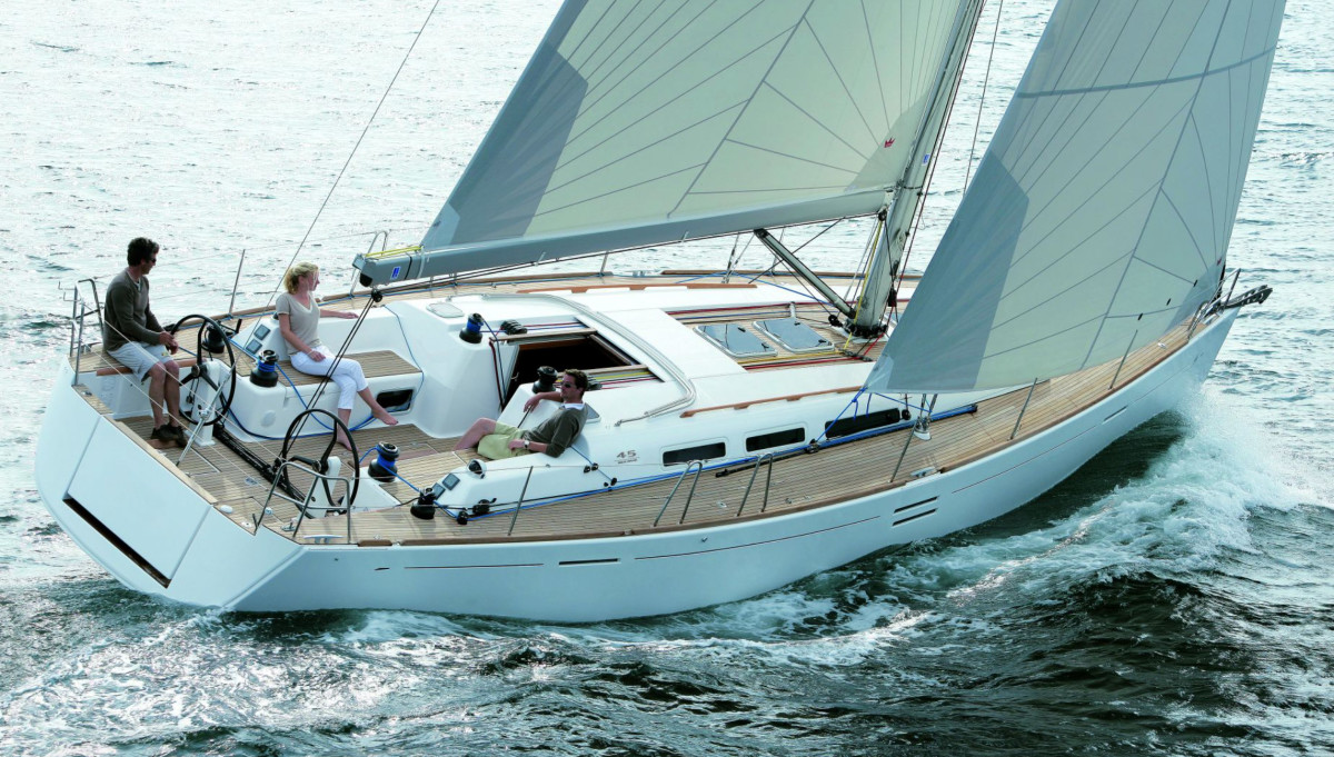 Dufour Yachts is seeking to increase its U.S. presence; the Performance 45E is pictured here.