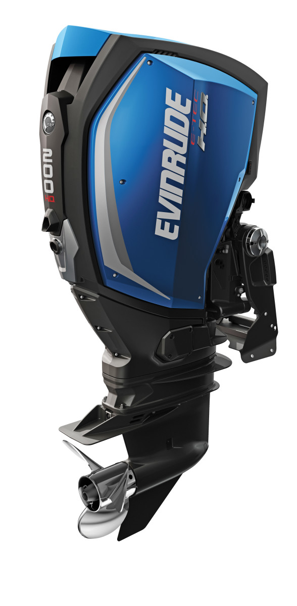 Evinrude's E-TEC G2 200 is part of the manufacturer's line of 2-stroke outboards that ranges from 150 to 300 hp.