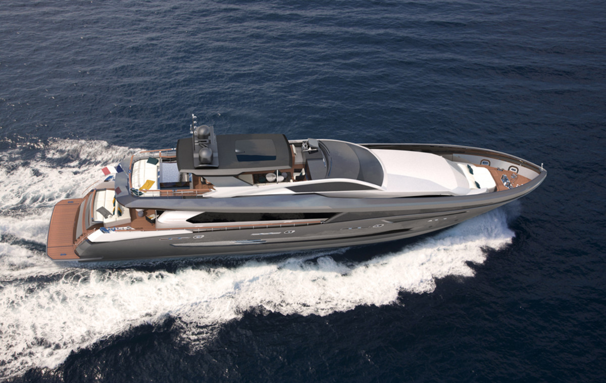 The Chantier Naval Couach 3700 Sport has a top speed of 28 knots.