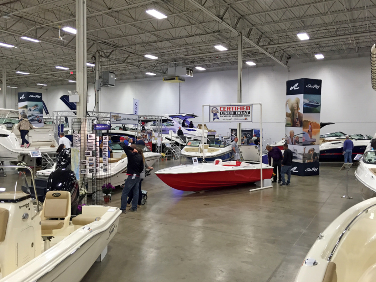 Prince William Marina in Woodbridge, Va., has had a certified pre-owned program for about 10 years.