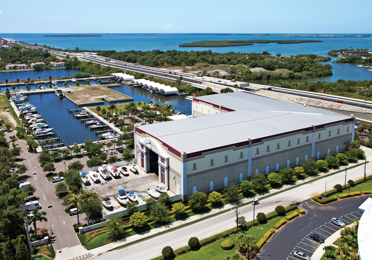 The Loggerhead marina in St. Petersburg, Fla., is among the 11 Suntex acquired.