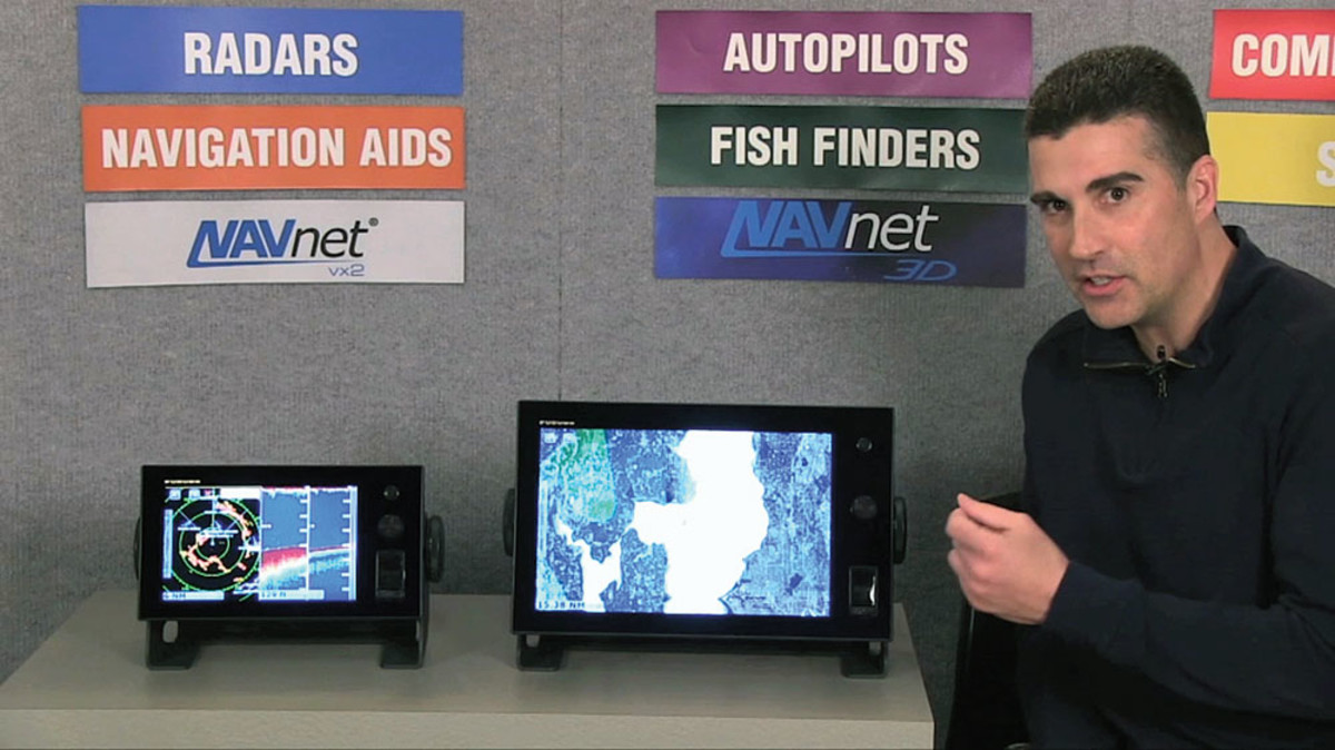 Kurutz is frequently the on-screen talent for Furuno's training videos, such as this guided tour of NavNet TZtouch.