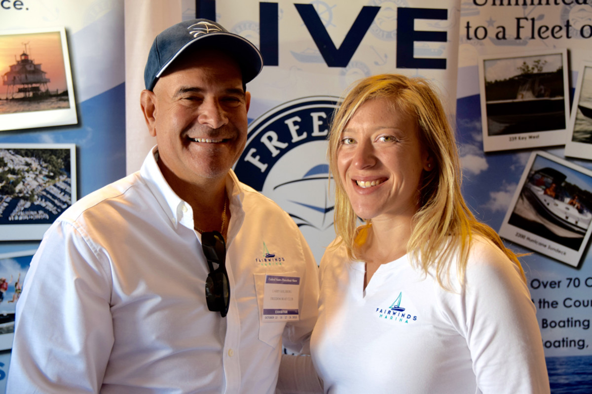 Larry Goldberg and his daughter JoAnna are the new owners of Freedom Yacht and Boat Club of Maryland.