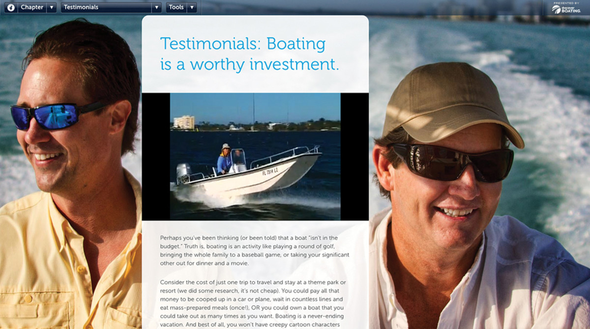"""The RBLC's Affordability Committee is focusing more on the """"value"""" of boating than on price tags."""