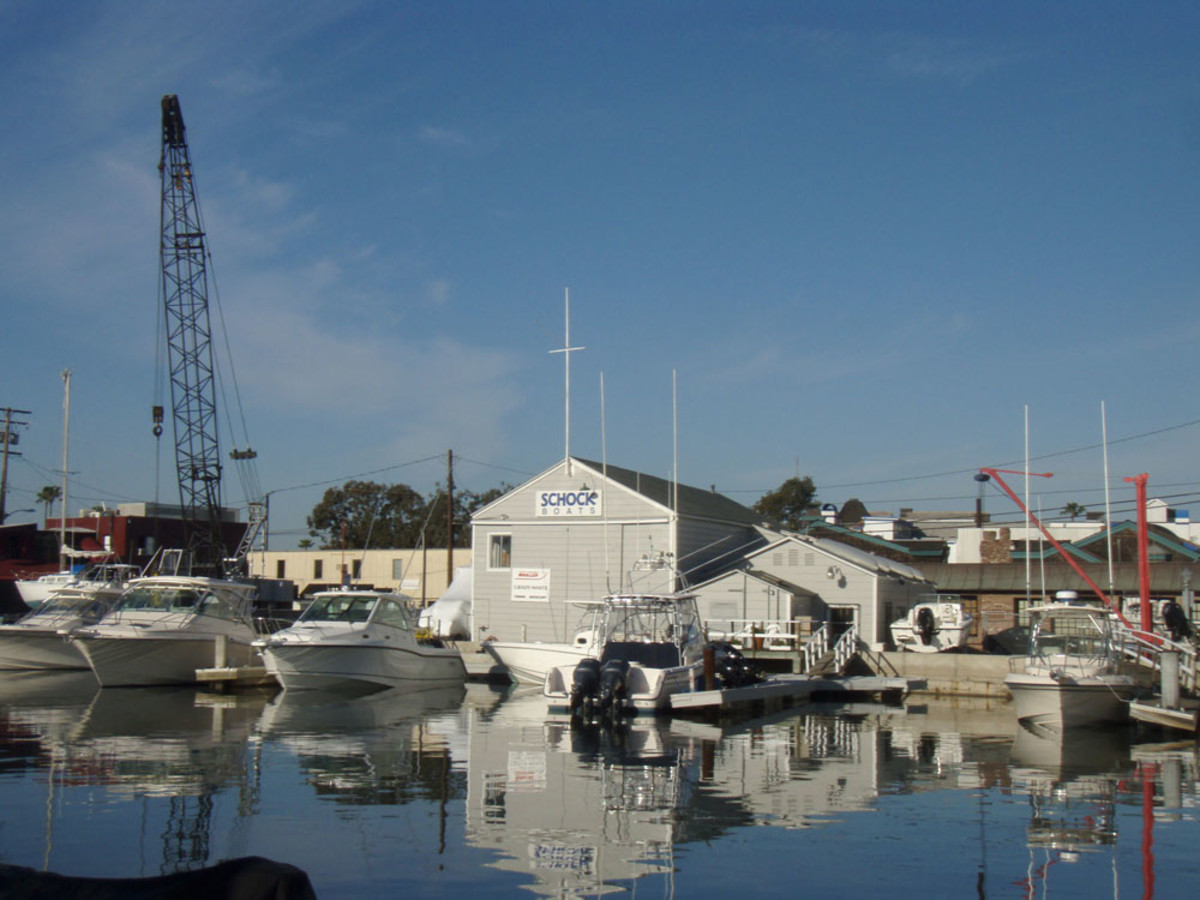 Schock Boats of Newport Beach, Calif., has represented Grady-White Boats in Southern California since 1988.