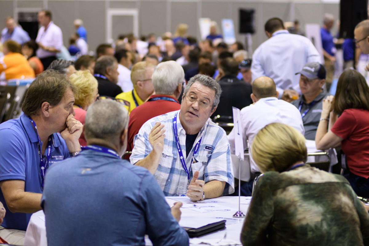 For the first time in 2016, MDCE attendees had the chance to participate in dealer-to-dealer roundtable discussions, giving them an opportunity to share and hear best practices and strategies that have helped other dealers take advantage of opportunities and overcome obstacles. The roundtable discussions are being expanded for the 2017 MDCE.
