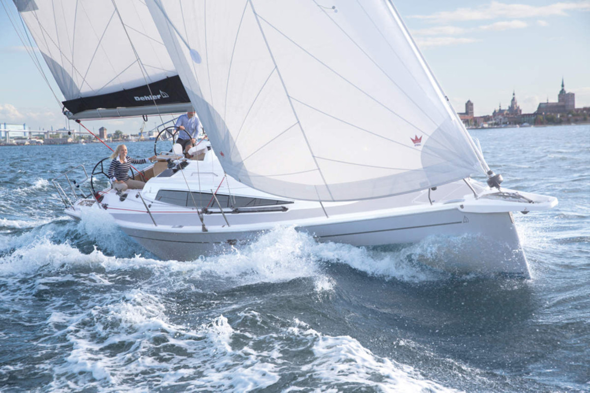 The Dehler 34 will debut at the Jan. 21-29 boat show in Düsseldorf, Germany.