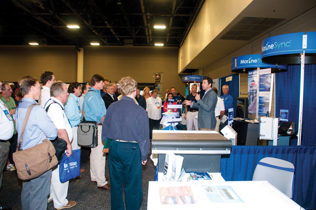 The IMBC, which is in its 15th year, gives marina owners a chance to hear from industry suppliers.
