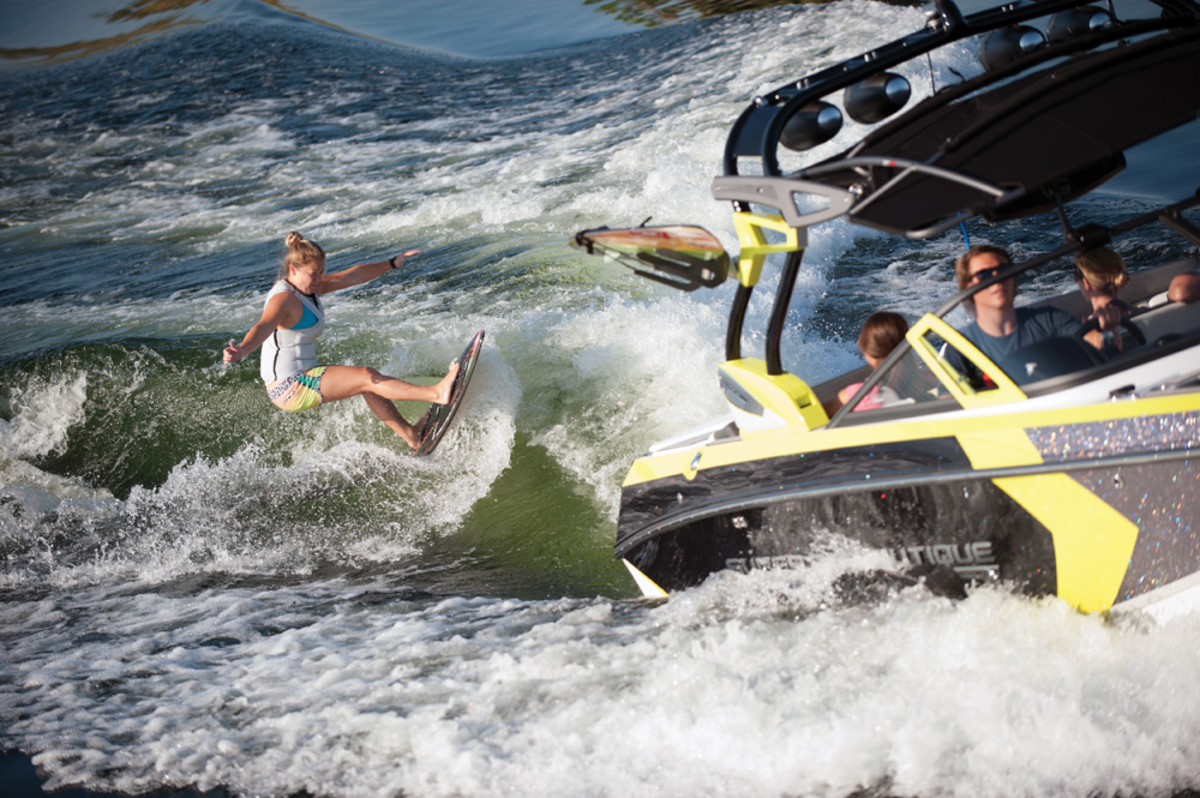 Tow boats have helped lead the industry's comeback, thanks to a continuing enthusiasm for skiing and wakeboarding.