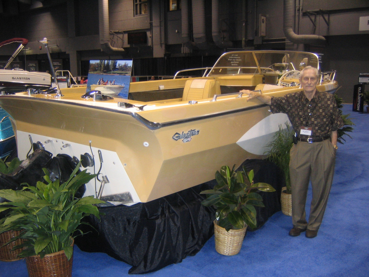 Glastron Boat Co. founder Robert R. Hammond is shown in 2005 in a photo taken by the president of the Classic Glastron Owners Association and posted on Flickr.