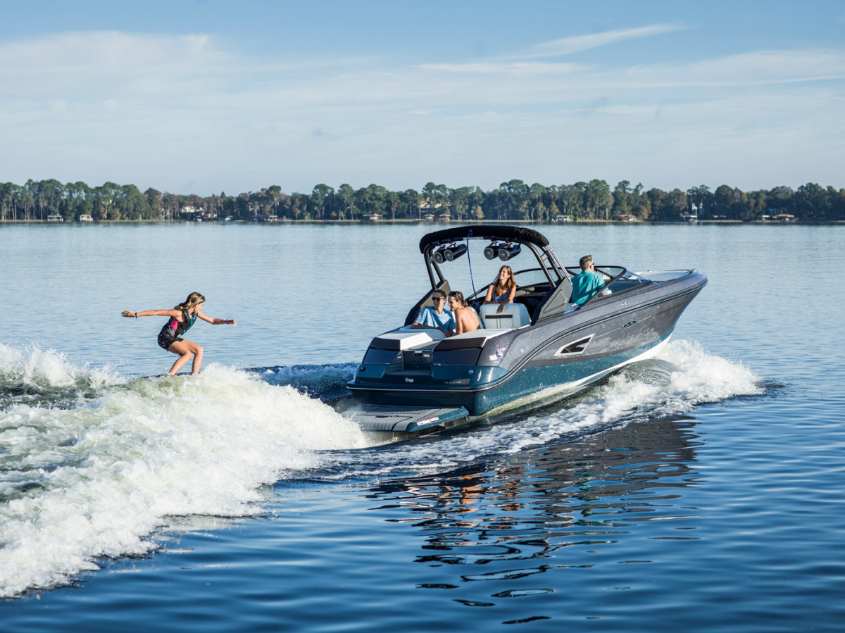 The SLX-W is designed for wake surfing.