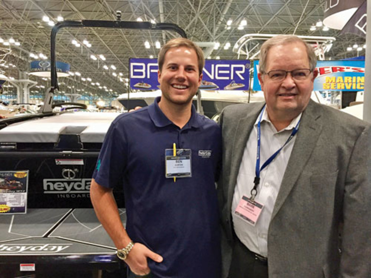 Ben Dorton with Mark Schwabero photo