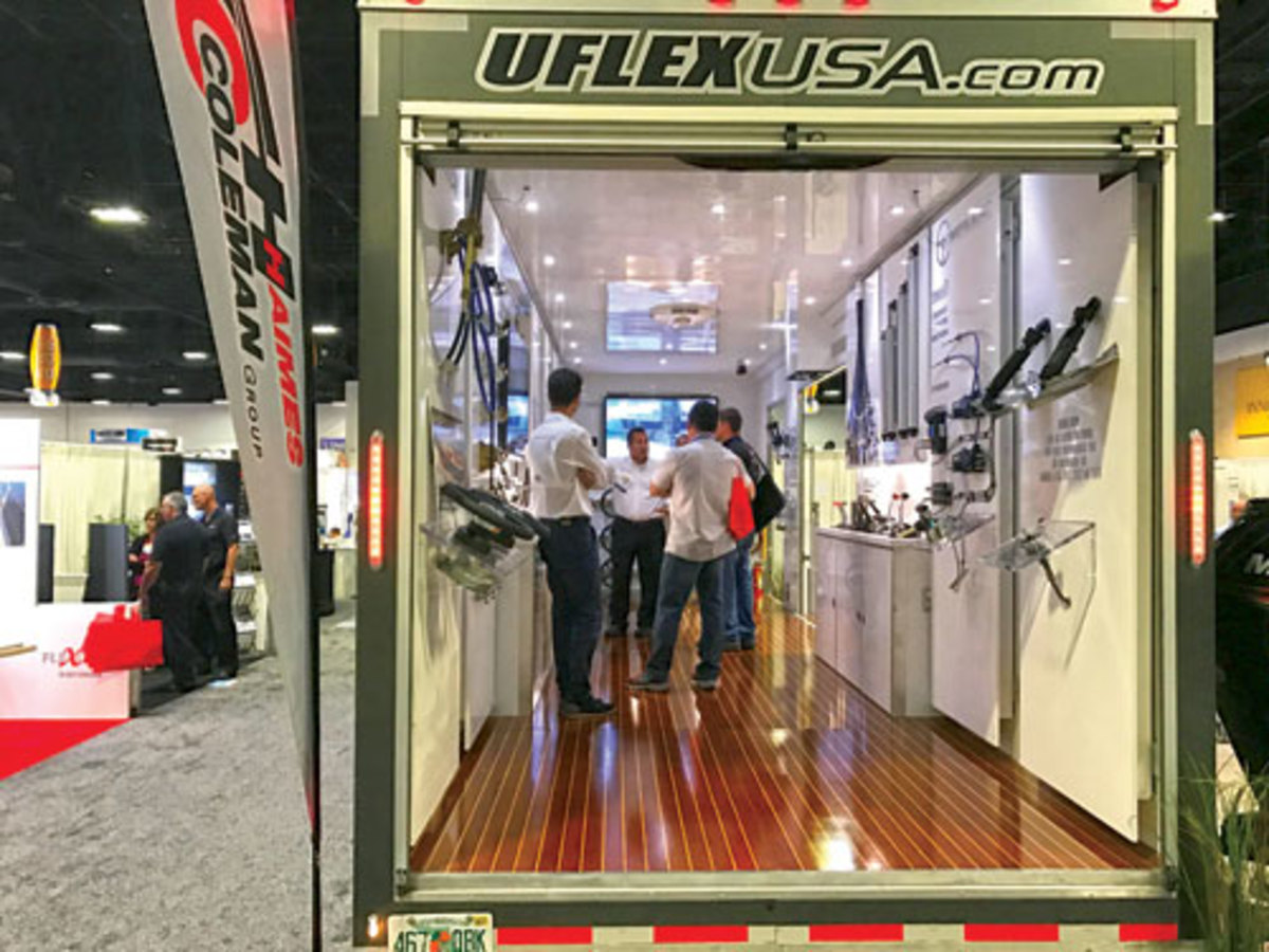 UFlex USA at IBEX in 2016 photo