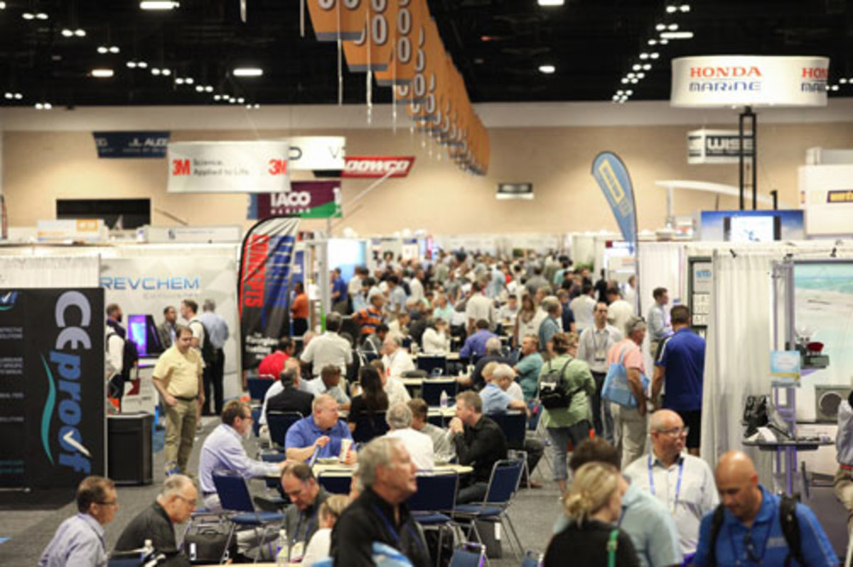 Photo of crowd at IBEX 2016