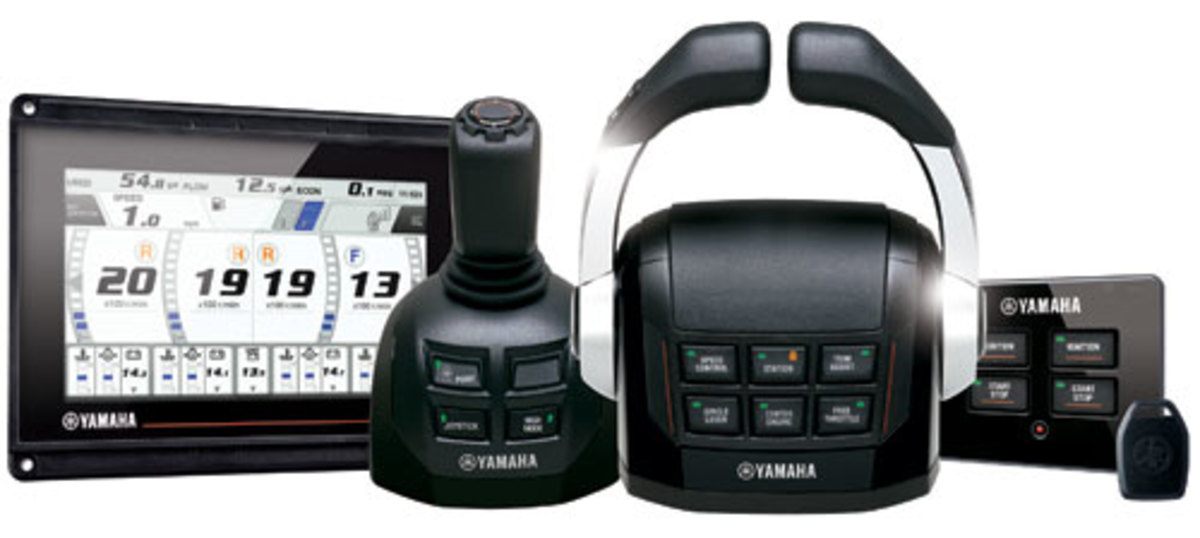 Yamaha Helm Master Photo