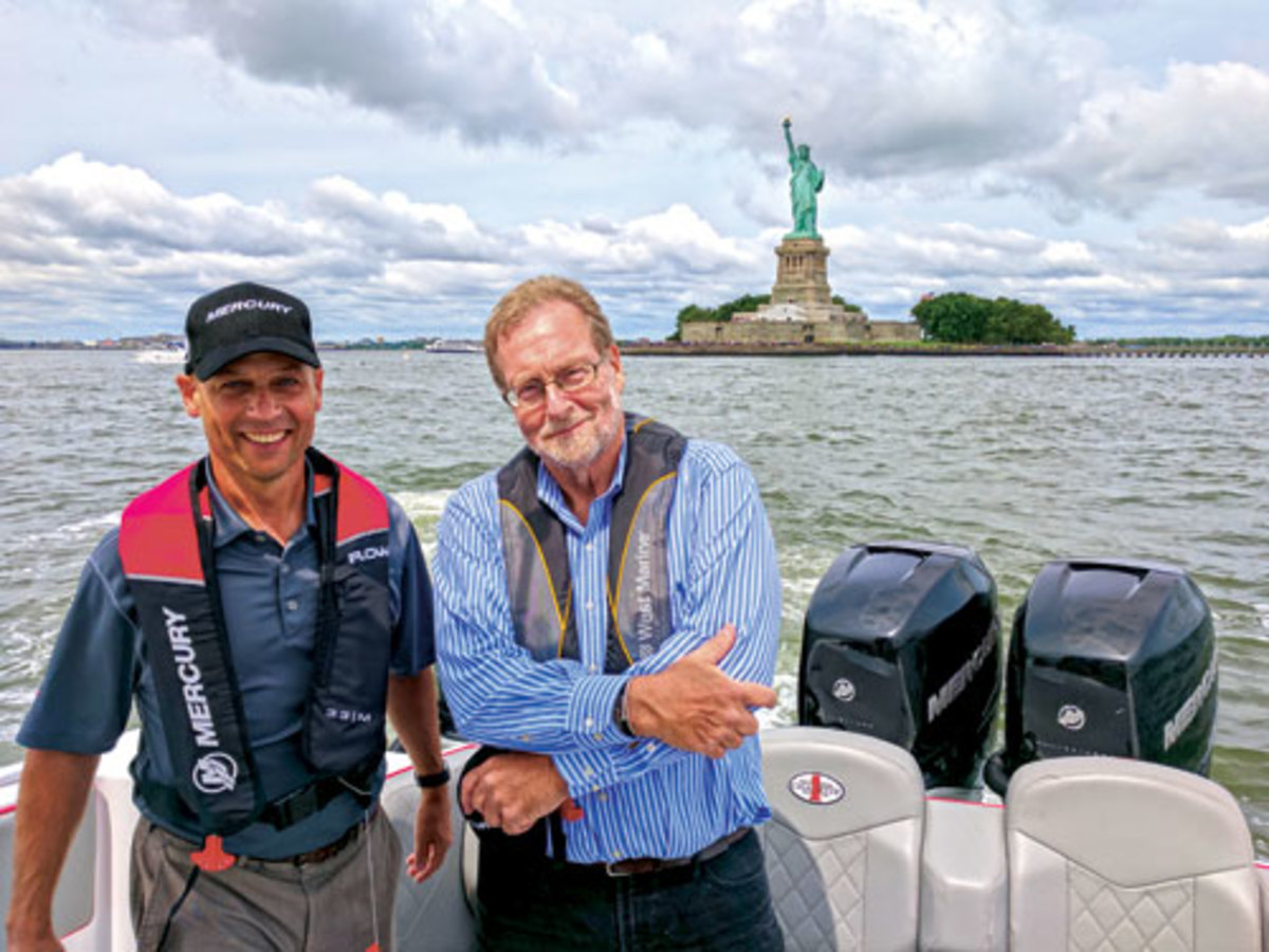 John Pfeifer and Peter Greenberg in NYC