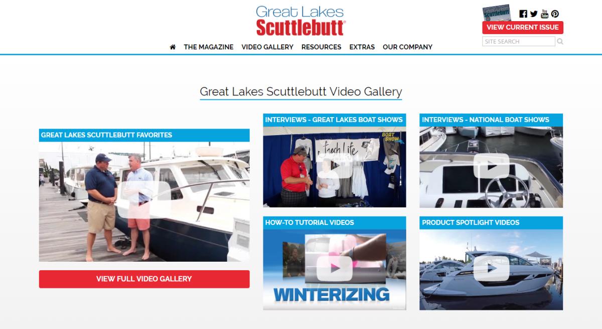 Great Lakes Scuttlebutt    screen shots
