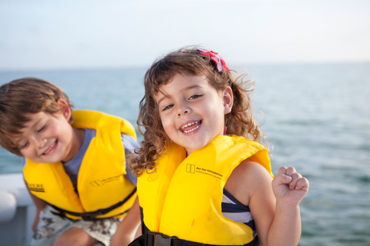 The Life Jacket Loaner Program is one of many programs Sea Tow offers.