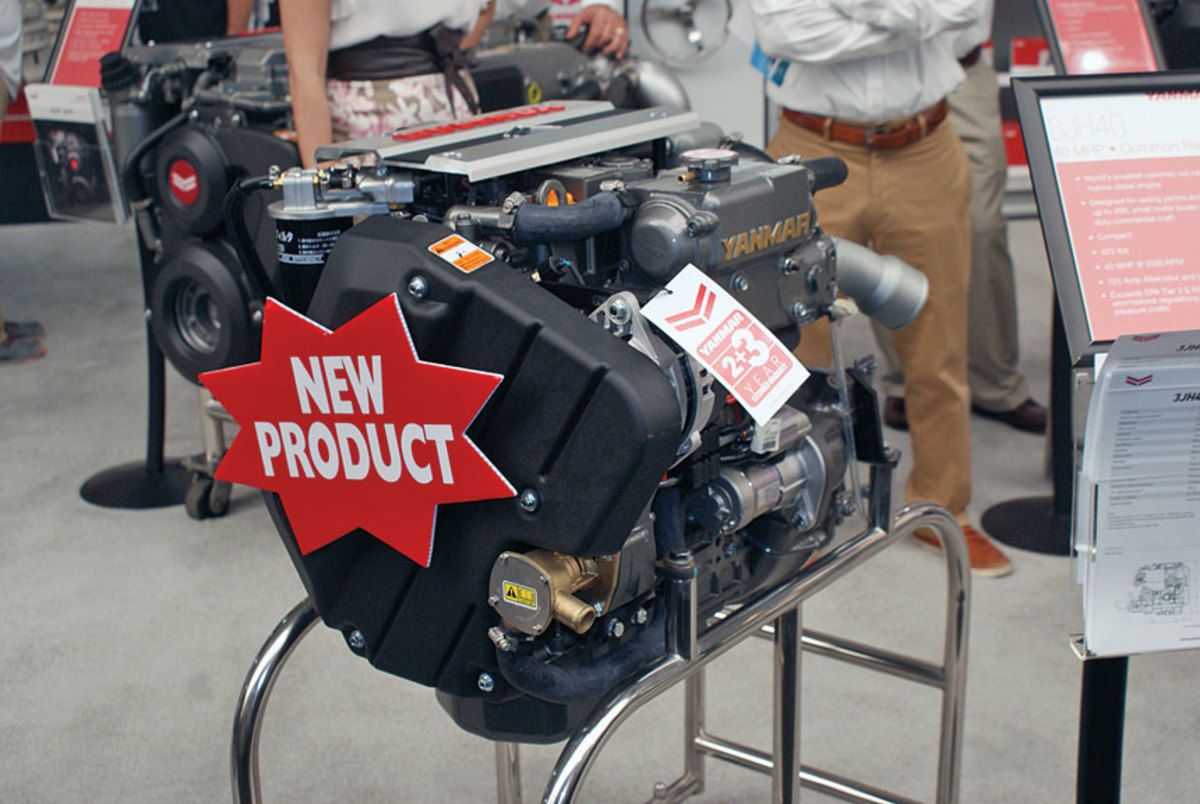 Yanmar introduce a new diesel inboard for sailboats.