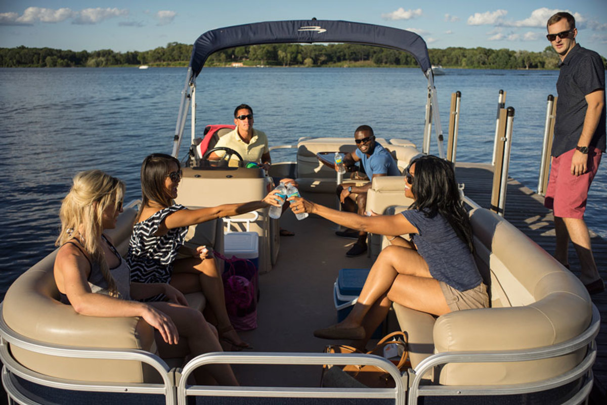New data released Wednesday showed that almost 38 percent of the boats sold in 2017 were made of aluminum; the aluminum pontoon segment, which has been the strongest segment post-recession, saw 7.8 percent growth.