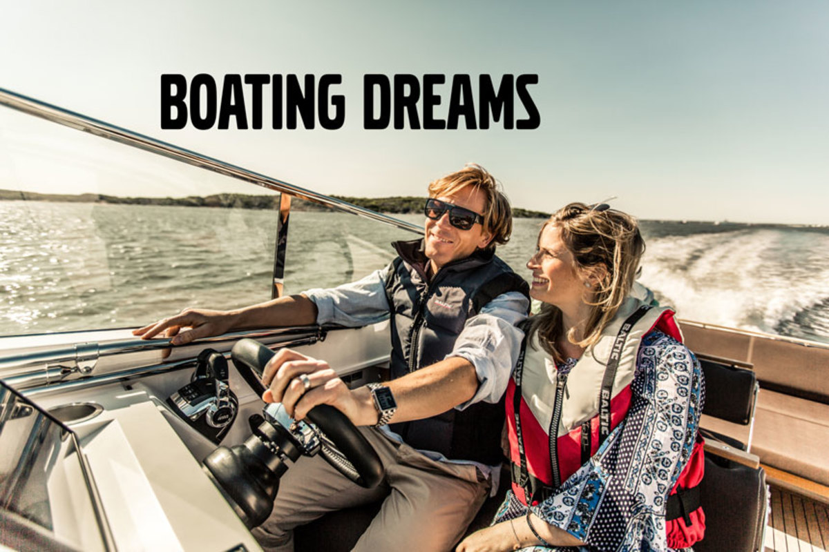 Volvo Penta wants to hear about customers' dream days on the water.