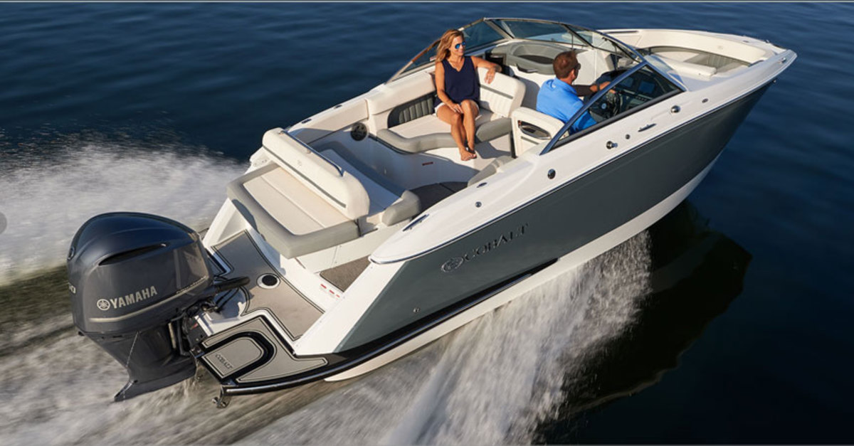 Cobalt says the Model 23SC offers the quality found in its larger boats in an outboard-powered bowrider.