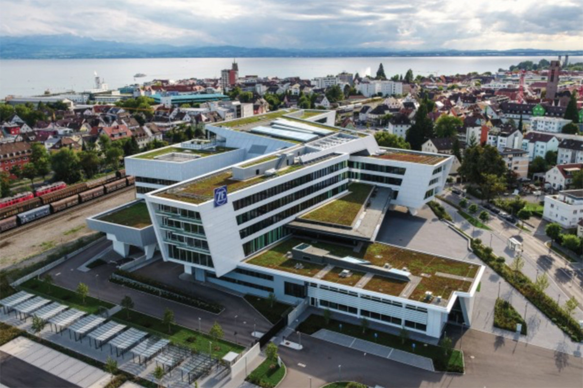 ZF Friedrichshafen AG headquarters in Germany.
