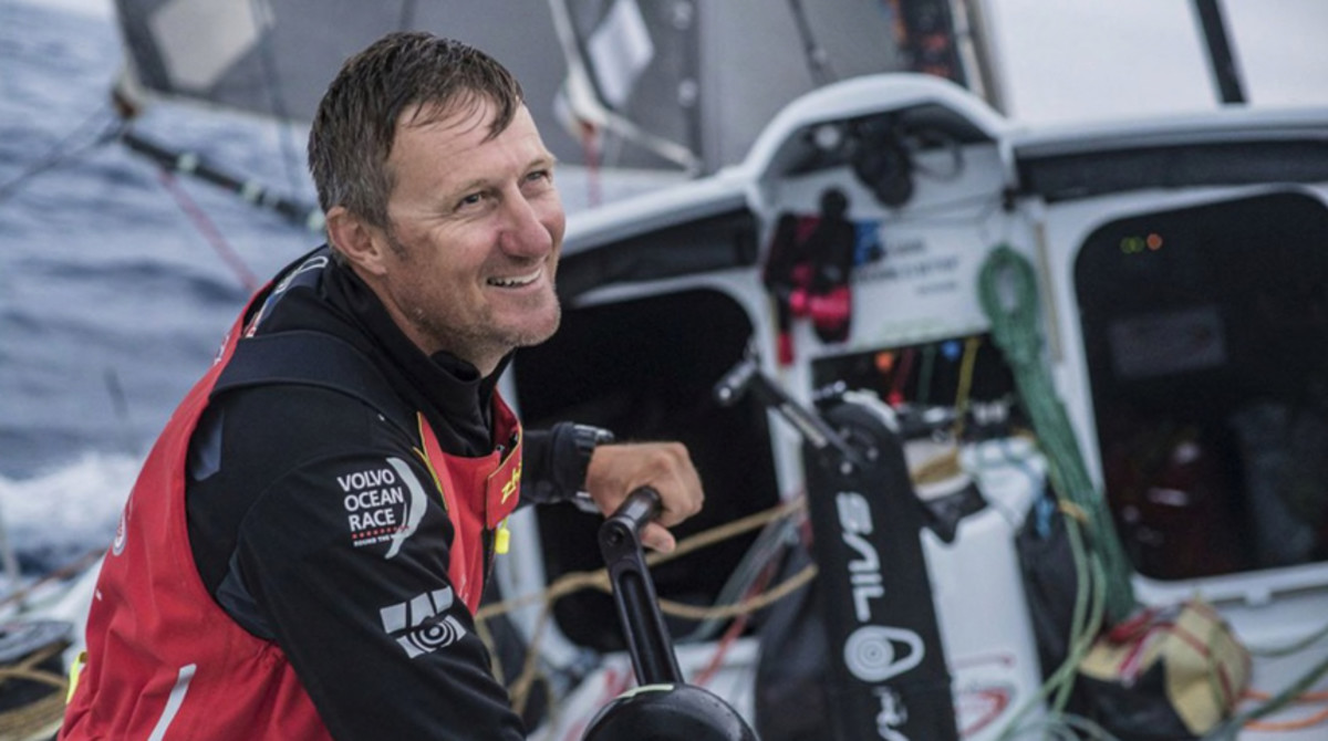 British sailor John Fisher, from Team Sun Hung Kai/Scallywag, is now presumed lost at sea. Photo courtesy of VOR/Jeremie Lecaudey.