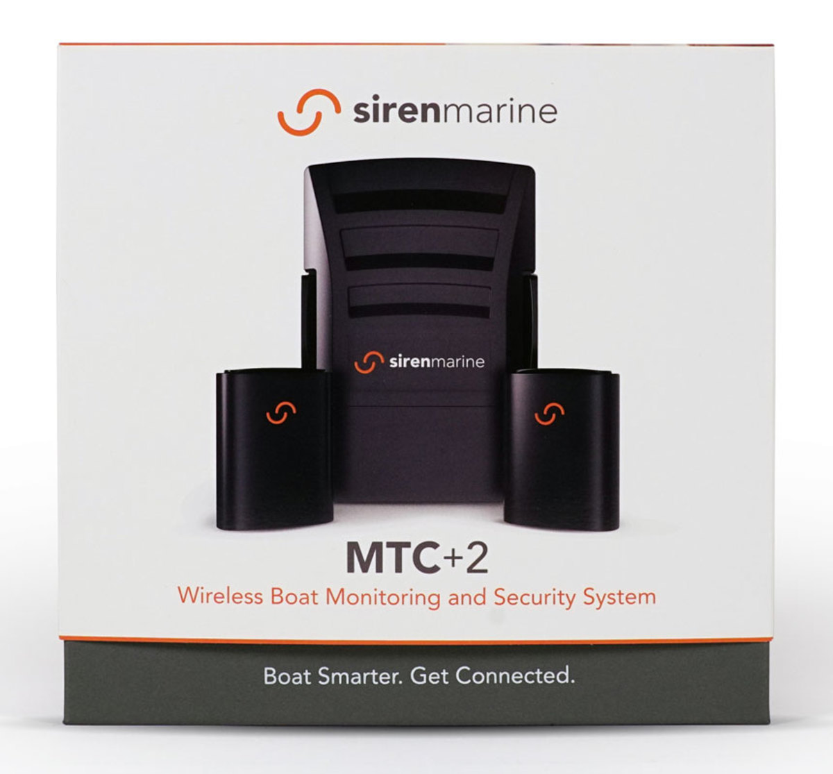 The Siren MTC+2 and two wireless sensors