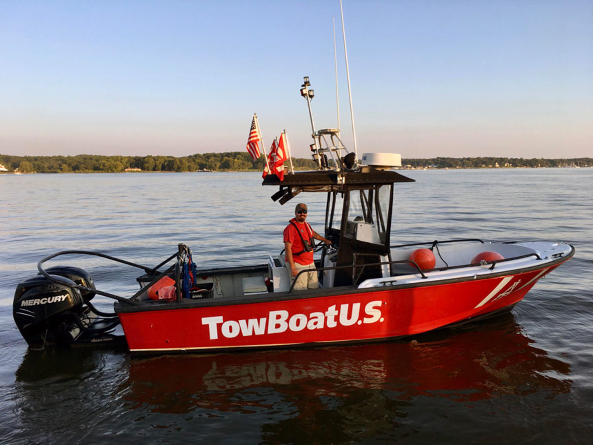 Capt. Brandon Meshev, new owner of TowBoatUS Chesapeake City