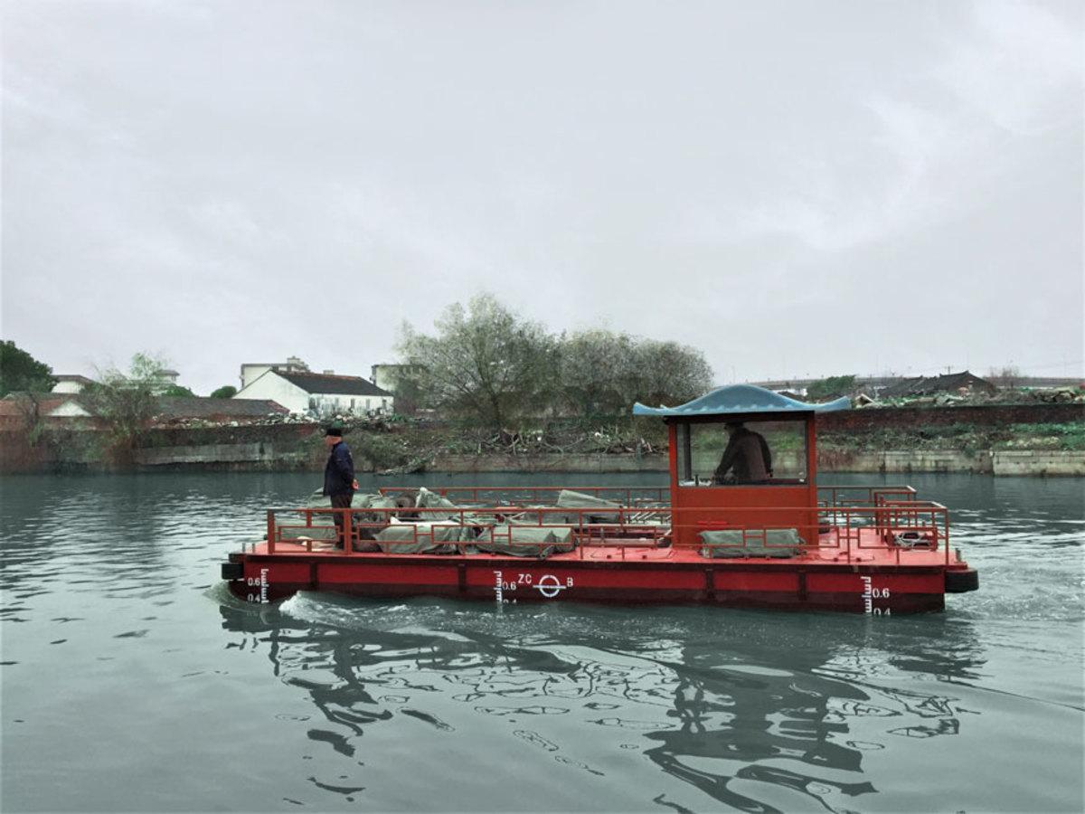 Torqeedo motors are powering a fleet of workboats in China