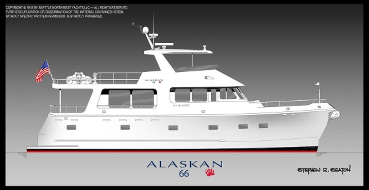 The Alaskan Mark II series is designed for owner-operators who want to cruise long distances.
