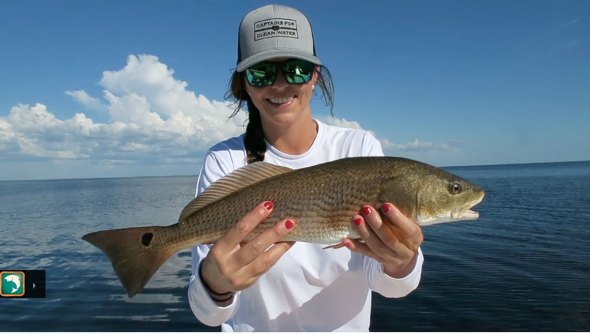 Vlogger Alycia Page tells the story of how she became a self-sufficient angler and offers advice to other women who want to learn.