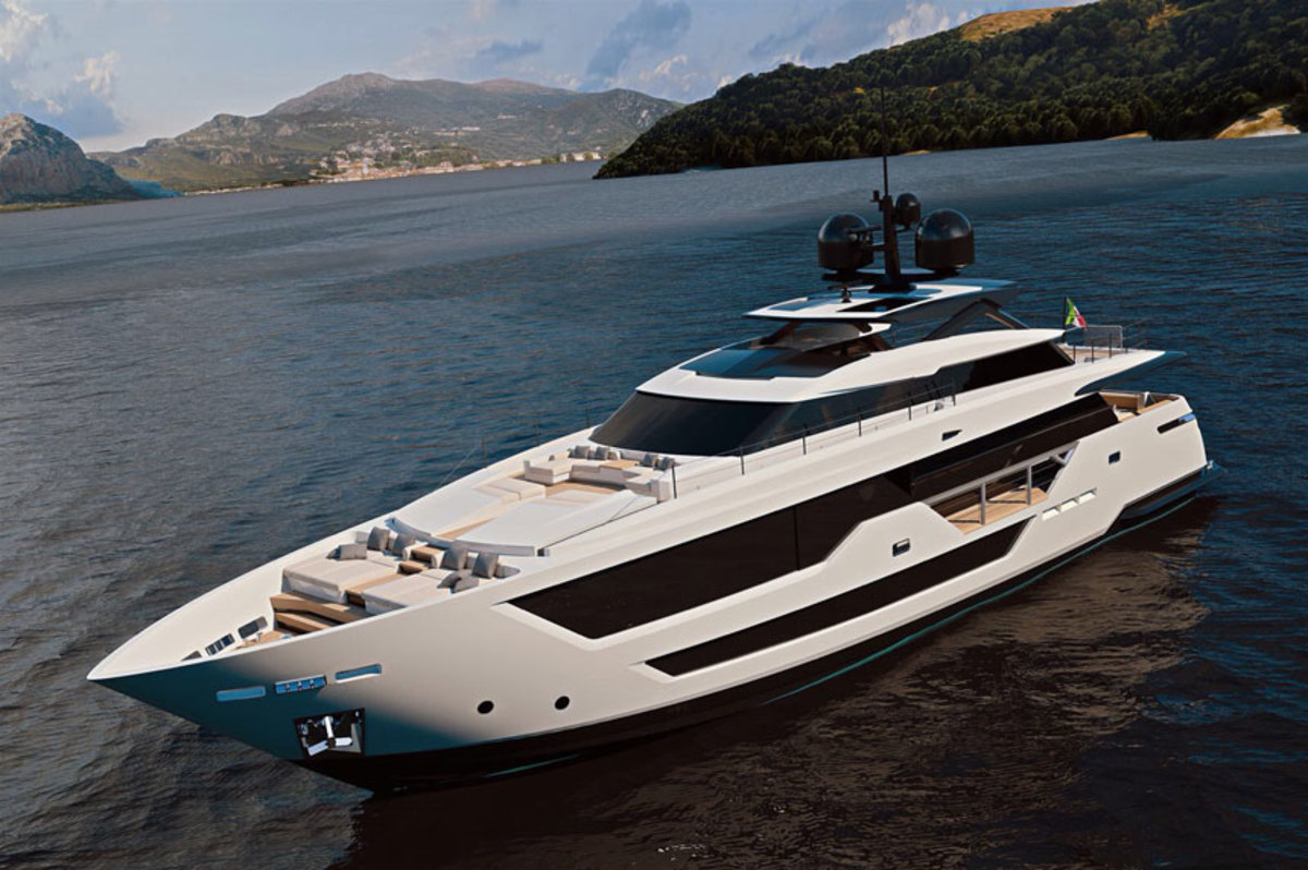 Ferretti's Custom Line is working on a new 106-foot yacht.